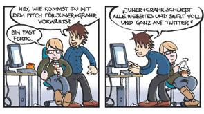 Neulich in der Agentur – ein SEO-Comic