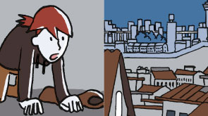 Comic für die BUKO Pharma-Kampagne