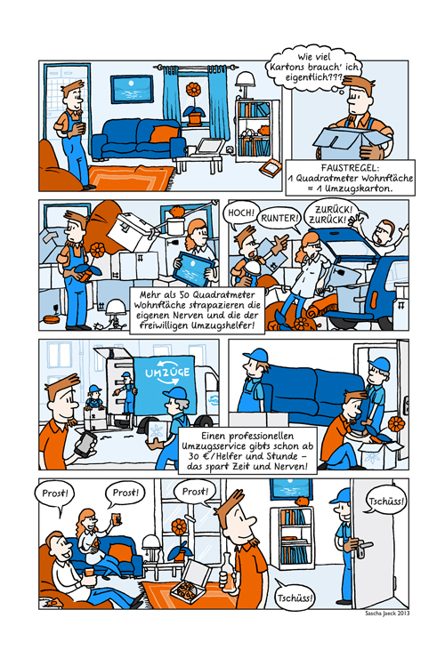 Comic für easyCredit