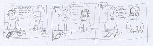 Comic Neulich in der Agentur