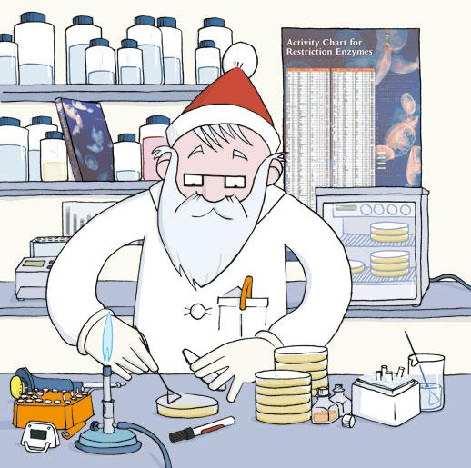 Illustration Weihnachtskalender