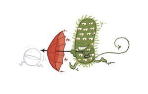 Mulitresitente Bakterie